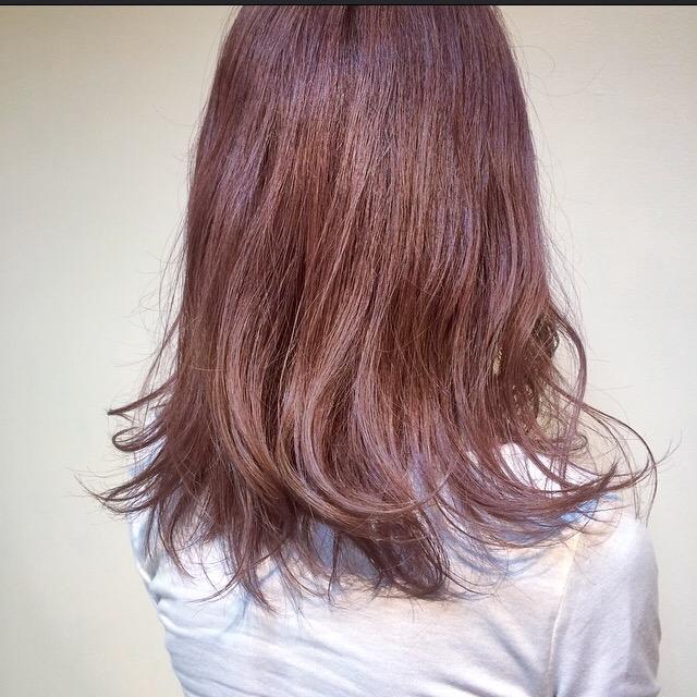 かわいい HAIR COLORの写真