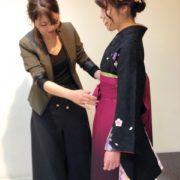 🎓卒業式🌸  (着付け、ヘアセット、メイク)の写真