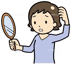 女性の円形脱毛症の原因と対策、治療法の写真